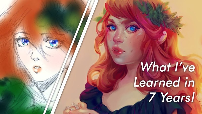 BEING SELF-TAUGHT IN DIGITAL ART: What I've Learned in 7 Years