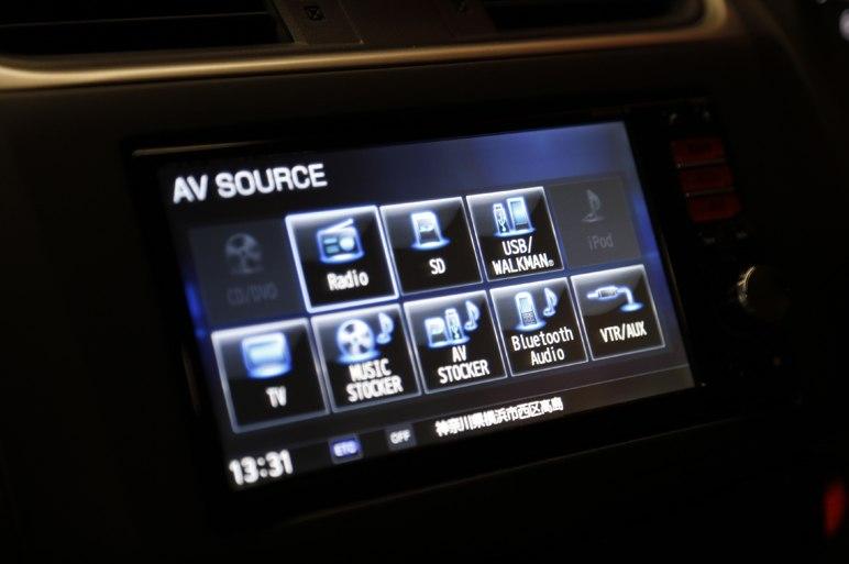Nissan Bluebird 2013 media system