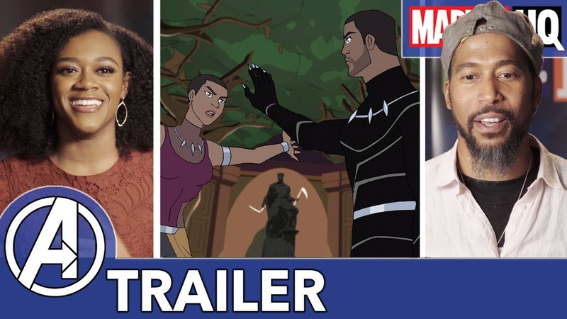 Marvel's Avengers Black Panther's Quest James Mathis III Daisy Lightfoot on Siblings FEATURETTE