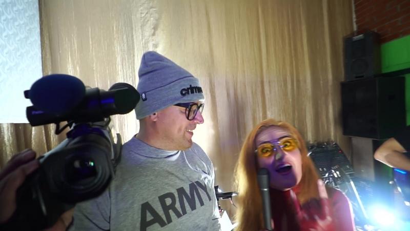 Как проходит съемка клипа на песню Здравствуй Новосибирск