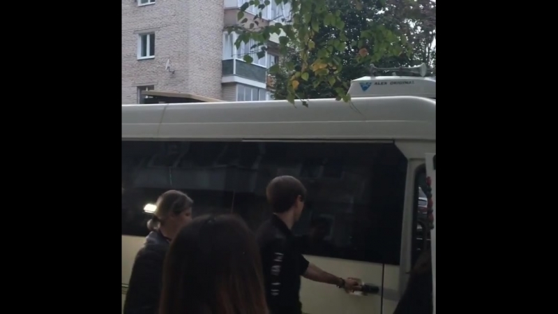 Александр Шепс и Виктория Райдос в поселке Бородинский