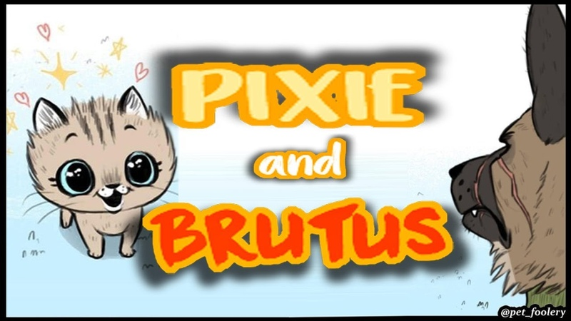 Pixie And Brutus (...and Cheetos)