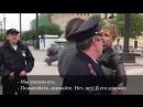 Полицейский беспредел. Арест велосипедиста и его адвоката.