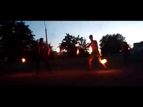 Born of FIRE дуэт - Фаер-шоу Бобруйск