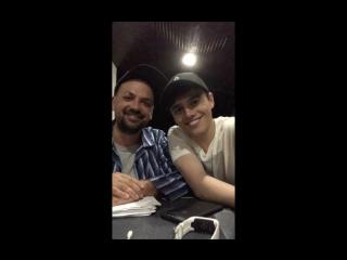 Олег Боднарчук и Никита ALEKSEEV / Прямой эфир Instagram, Киев (08.07.18)