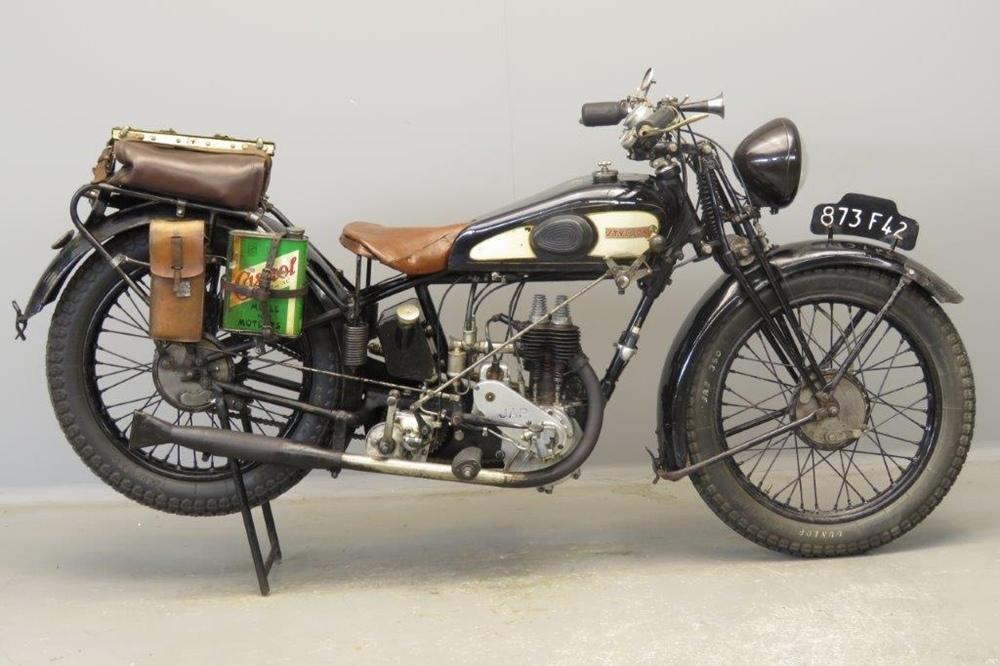 Старинный мотоцикл Styl'son 250 RCE JAP