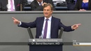 Bernd Baumann AFD: Tausende ist illegal hereingeströmt, weil Frau Merkel untätig blieb!