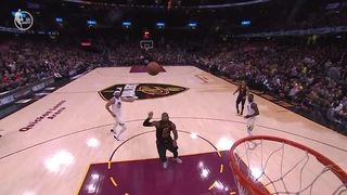 LeBron's AMAZING Pass To Himself For The Slam DUNK!!! THX FOR THE 20 SUBS AND 70K VIEWS!:) · #coub, #коуб