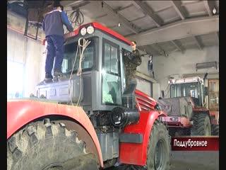 Ремонт сельхозтехники к зиме в ООО