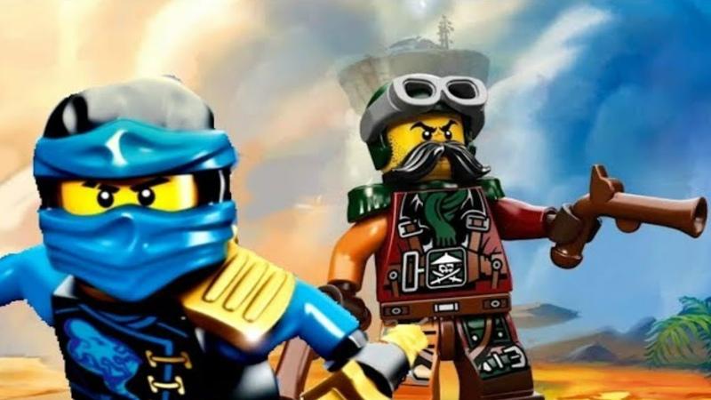 11 НИНДЗЯГО СКАЙБАУНД Флинтлок Прохождение игры про мультфильм ниндзя LEGO Ninjago Skybound Game