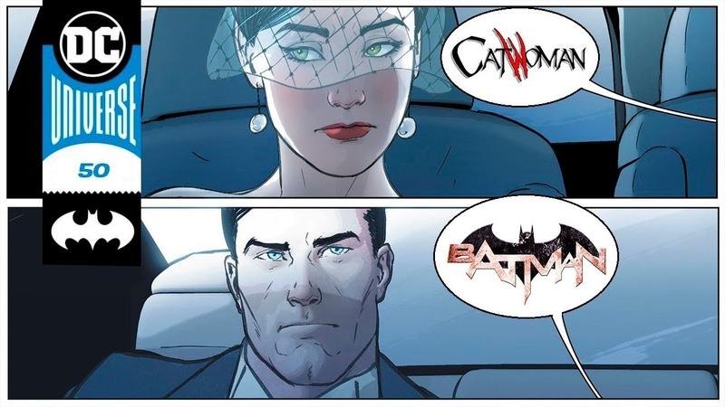 Свадьба БЭТМЕНА и ЖЕНЩИНЫ КОШКИ Batman №50 DC COMICS
