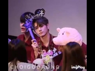 180610 • Wanna One (focus Seongwu) • Hottracks Fansign