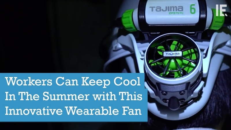 Workers Can Keep Cool In The Summer with This Innovative Wearable Fan