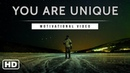 You are Unique - Motivational Video in English | 2018 | Alarm | Rat Race