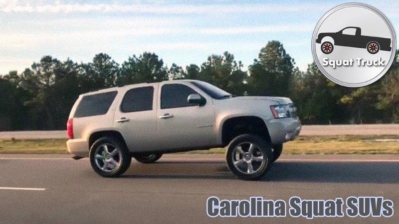 Carolina Squat SUVs on the Highway