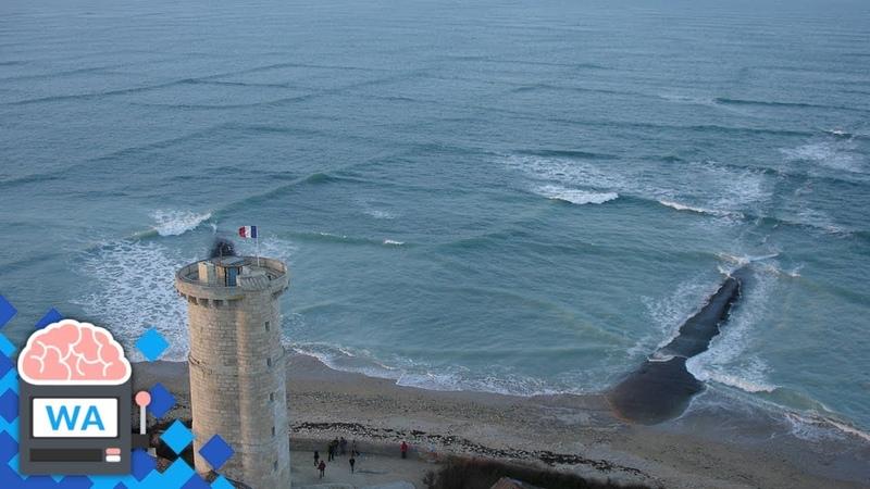 Wenn du quadratische Wellen im Meer siehst, geh sofort aus dem Wasser!