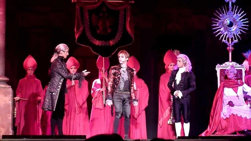 Mozart l'Opéra Rock Penser l'impossible arrivée de Mozart Bercy 10 07 11
