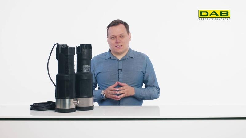 Какой выбрать насос в колодец? DAB Divertron - погружной колодезный насос для дома или на дачу.