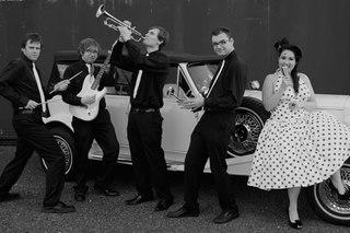 """оригинальная свадьба  """"Стиляги  """" стиль 50-60 х.Свадебное платье в."""