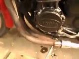 Ява с Двигателем от Yamaha 600  и литье от ИЖ 2014