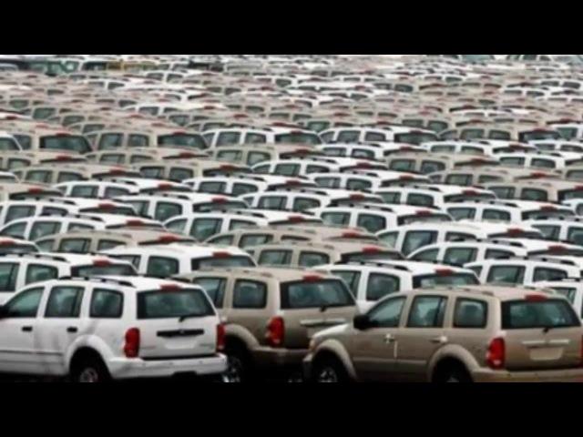 Что происходит с непроданными авто Кладбище новых машин брошенные новинки авто