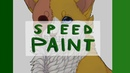 [speedpaint] Яролика redraw | SAI