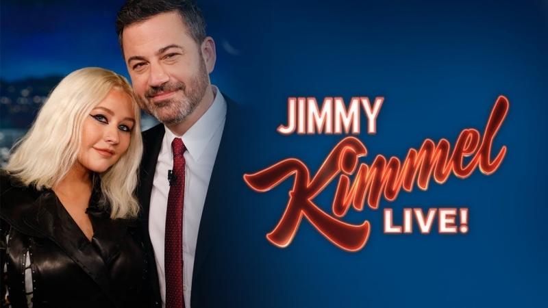 Jimmy kimmel live! 2018 christina aguilera