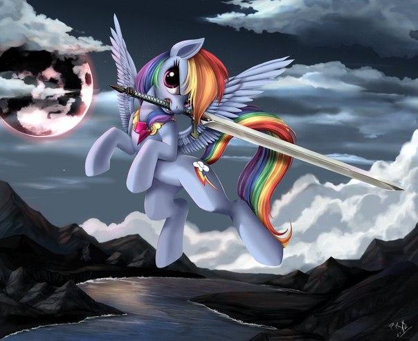 """Фанфик """"Падший ангел"""" +арты винкс и маленьких пони!"""