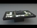 Голографический стол NettleBox. Проект_ Испанские Кварталы A101