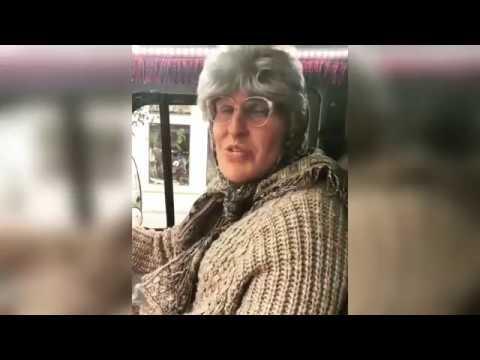 Михаил Галустян и Александр Ревва угарают на съемках Бабушка Легкого Поведения 2!