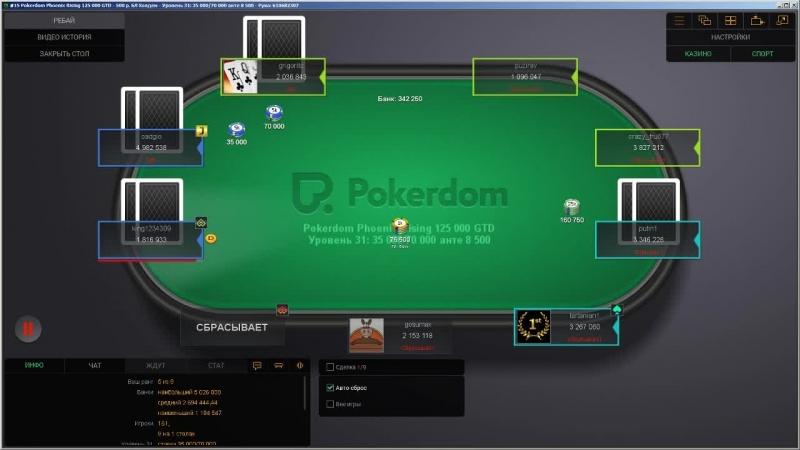 Pokerdom Phoenix Rising 500р