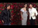 Hrithik Roshan, Tiger Shroff, Disha Patani Arrives At Ranveer Deepikas Wedding Reception
