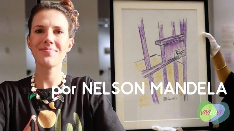 Pintura de Mandela é Vendida Pela Primeira Vez - Vivi Arte News VIVIEUVI