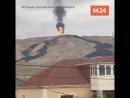 В 35 километрах от Баку произошло извержение одного из крупнейших в мире грязевых вулканов Отман-Боздаг.
