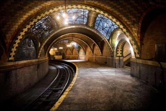 метро нью-йорка станции фото