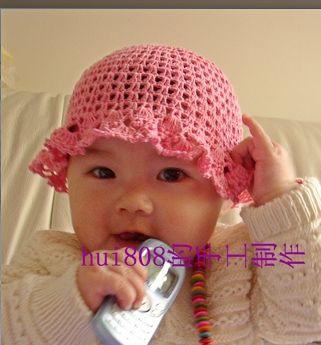 Шапочка для девочки крючком. Схема вязания… (2 фото) - картинка