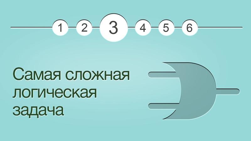 Введение в логику, урок 3: Самая сложная логическая задача