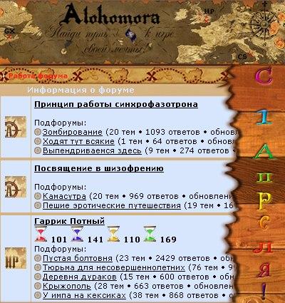 На ФРИ «Алохомора» новые названия разделов