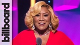 Patti LaBelle Introduces Woman of the Year Recipient Ariana Grande Women in Music