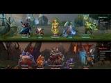 Dota 2 Captains Mode COMEBACK Megacreeps 2 часа 47 минут пота Troll Warlord