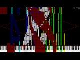 Black MIDI Macintosh plus -  Floral Shoppe