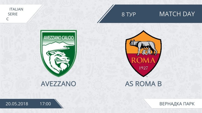 AFL18. Italy. Serie C. Day 8. Avezzano - AS Roma B.