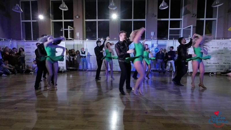 Salsa-show, Siberian Mambo Project (хореографы Денис Абраменков и Марина Старостина) @ Salsa Cubana