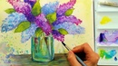 LIVE! Lilacs in Watercolor 6:30pm Eastern Time Saturday