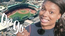 Kendra roots for the Boston Red Sox – On the go with EF 76