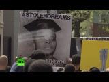 Против полицейской жестокости: активисты прошли маршем от Нью-Йорка до Вашингтона