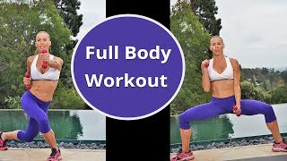 Full Body Workout No Equipment Bodyweight Exercises