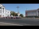 Репетиция марш парада духовых оркестров посвященного 75 летию Курской битвы