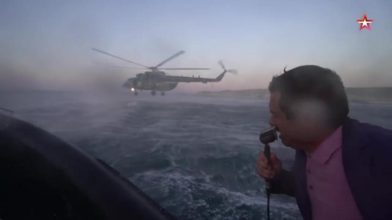 Выброска боевых пловцов из вертолета_ уникальные кадры