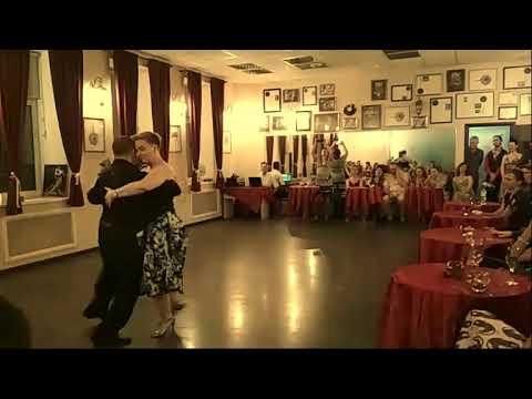 Alexandra Trofimova Alexey Roschektaev Milonga vieja milonga Orquesta Juan D'Arienzo